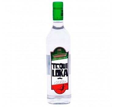 Tequila Tequiloka Silver 1L